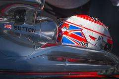 Jenson Button Jerez 2015 Stock Foto's