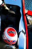 Jenson Button Jerez 2015 lizenzfreie stockfotografie
