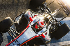Jenson Button Jerez 2015 Arkivbilder