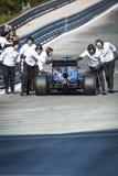 Jenson Button Jerez 2015 Stock Images