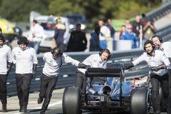 Jenson Button Jerez 2015 Stock Image