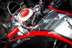 Jenson Button Jerez 2015 Royalty Free Stock Image