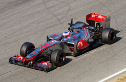Jenson Button (McLaren) Image stock