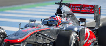 Jenson Button Mclaren lizenzfreie stockfotos