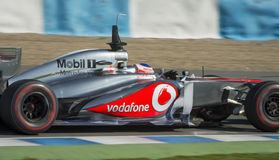 Jenson Button Mclaren Royalty Free Stock Image