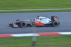Jenson Button McLaren-Mercedes Royalty Free Stock Images