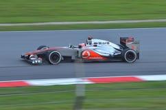 Jenson Button McLaren-Mercedes Immagini Stock Libere da Diritti