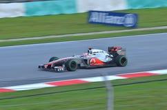 Jenson Button McLaren-Mercedes Fotografie Stock