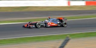 Jenson Button Prix grand britannique 2010 images libres de droits