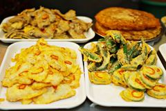 Jeon / Assorted Savory Pancakes Modum-jeon Royalty Free Stock Images