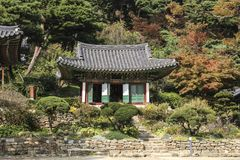 Jeondeungsa Temple in Ganghwa-gun, Incheon, South Korea