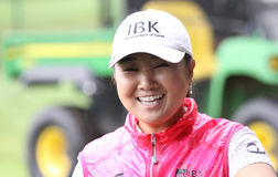 Jeong Jang at  Evian Masters 2010 Royalty Free Stock Images