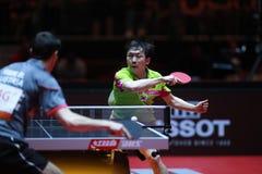 JEONG Sangeun Top Spin Royalty Free Stock Photo