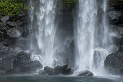 Jeongbang Falls, Jeju Island, South Korea Royalty Free Stock Images