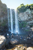 Jeongbang Waterfall, Jeju, Korea 3 Stock Photos