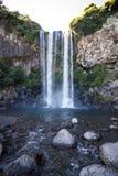 Jeongbang Waterfall, Jeju, Korea 2 Stock Photo