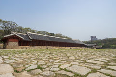 Jeongjeon (Main Hall) of Jongmyo Royalty Free Stock Image