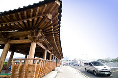 jeonju södra korea Arkivfoto