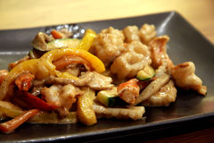jepanese teppanyaki Arkivbild