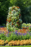 Jephson-Gärten Leamington-Badekurort Warwickshire Lizenzfreie Stockfotos