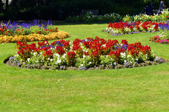 Jephson Gardens in Leamington Spa, Warwickshire Stock Photos