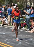 Jeptoo (Kenya) races up Heartbreak Hil Stock Photography