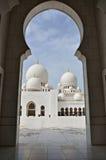 Jeque zayed Imagen de archivo libre de regalías