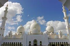 Jeque zayed Abud Dabi EMIRATOS ÁRABES UNIDOS foto de archivo libre de regalías