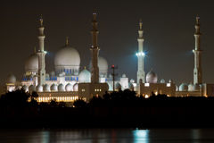 Jeque Zayed Grand Mosque Imagenes de archivo