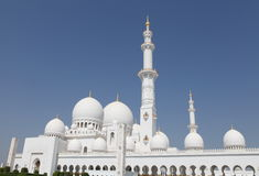 Jeque Zayed Grand Mosque Foto de archivo