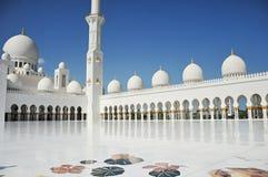 Jeque Zayed Grand Mosque Imágenes de archivo libres de regalías