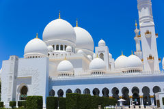 Jeque Zayed Grand Mosque Imagen de archivo libre de regalías