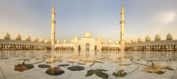Jeque Zayed Grand Mosque foto de archivo libre de regalías