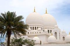 Jeque Zayed Grand Mosque, Abu Dhabi imagen de archivo