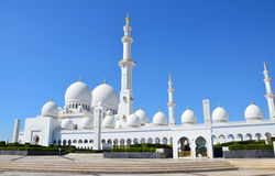 Jeque Zayed Grand Mosque Abu Dhabi Imagenes de archivo