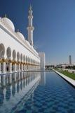 Jeque Zayed Mosque Foto de archivo libre de regalías