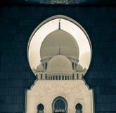 Jeque Zayed Mosque Fotografía de archivo libre de regalías