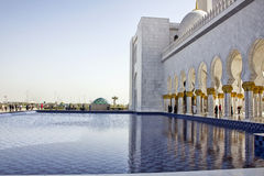 Jeque Zayed Mosque, Abu Dhabi Fotografía de archivo