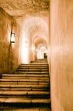Jerónimos Monastery stairs Royalty Free Stock Image