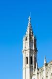 Jerónimos Monastery tower Stock Photos