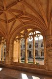 Jerà ³ nimos修道院,贝拉母,葡萄牙,冬天2014年 库存图片