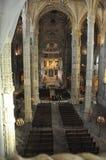 Jerà ³ nimos修道院,贝拉母,葡萄牙,冬天2014年 免版税库存照片