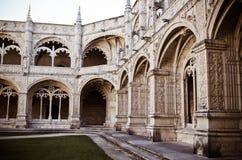 Jerónimos kloster Royaltyfria Bilder