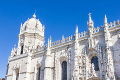 The Jerónimos Monastery and the Church of Santa Maria in Belém, Lisbon Stock Image