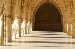 Jerónimos Monastery shadows stock photo