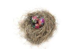 Jerarquía con los huevos de Pascua Imagenes de archivo