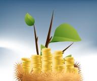 Jerarquía del dinero stock de ilustración
