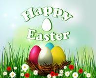 Jerarquía del huevo de Pascua stock de ilustración