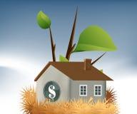Jerarquía del préstamo hipotecario ilustración del vector