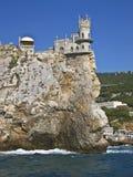 Jerarquía del trago del castillo, Crimea imagen de archivo